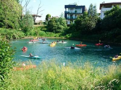Canoa Club Sacile attività di gruppo